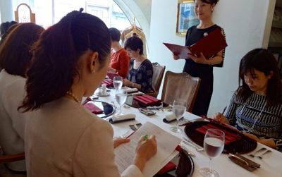 女性起業家 ランチ会 お茶会 テーブルマナー